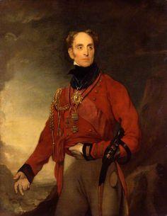 Portrait Of Sir Galbraith Lowry Cole c.1834-35 by William Dyce (Scottish 1806-1864)