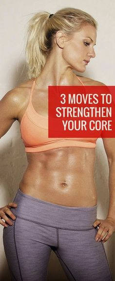 3 Moves to Strengthen your Core | Wokoutsly