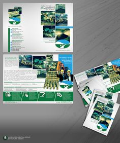 Sales brochure for a facility management firm by PA designs