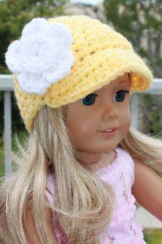 Crocheted Doll Beanie Hat