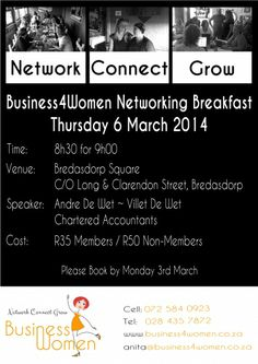 Book Now For Our Next Networking Event
