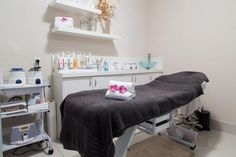 Salon Tour: Symbols Beauty Salon in Downtown Miami | Salon Today Spa Rooms, Downtown Miami, Gifts In A Mug, Office Desk, Salons, Tours, Symbols, Funny Humor, Flirting