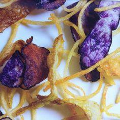 Chips van Vitelotte I Pomuni