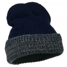 9ef5ea0e28dee Acrylic Fleece Lined Cuff Knit Cap - Navy