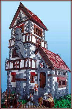 Awesome LEGO manor.