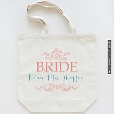 The Rosy Collection on sale this week $20  custom wedding totes | wedding chicks | CHECK OUT MORE IDEAS AT WEDDINGPINS.NET | #weddings #weddinggear #weddingshopping #shopping