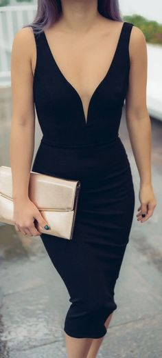 The perfect body hugging LBD