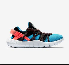 outlet store 11af6 4c11e Nike Air Huarache NM Sport Turquoise Bright Mango Black