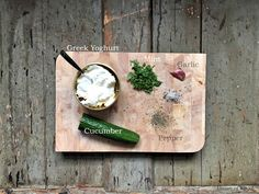 Super simple Tzatziki recipe Tzatziki Recipes, Black Rice, Greek Yoghurt, Falafel, Super Simple, Wine Recipes, Stuffed Peppers, Food, Stuffed Pepper