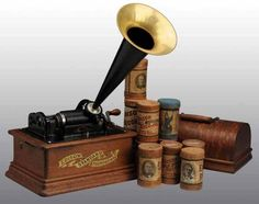 Edison: 1898the Edison Standard Phonograph was mass-produced and revealed to the press.  It cost $20.00