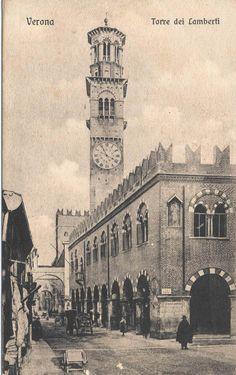 Verona - Via Pellicciai - 1915