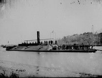 """Confederate ironclad CSS Virginia, also known as the """"Merrimack"""""""