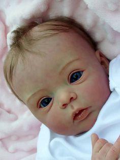 Stunning Livia baby girl by Gudrun Legler Reborn doll