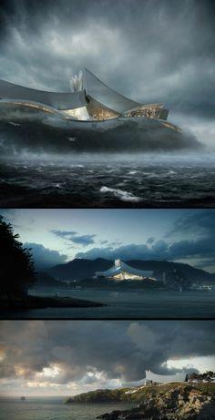 Crashing Waves By urbanite