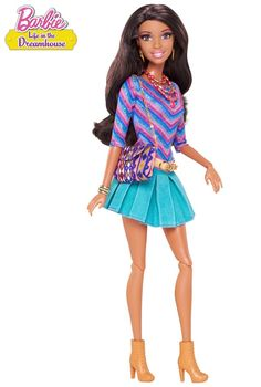 Styled after the popular Barbie web series, Nikki shows smart and sassy are so in this season. Barbie™ Life in the Dreamhouse Nikki® Doll. with extra outfit