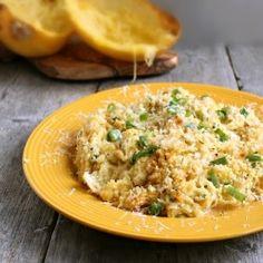 Light Spaghetti Squash Gratin recipe