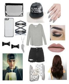 """""""Magcon: hanging out with carter"""" by itzmorganr ❤ liked on Polyvore featuring Topshop, Keds, MM6 Maison Margiela, Eva Fehren, Marc by Marc Jacobs, Penny Preville and ncLA"""