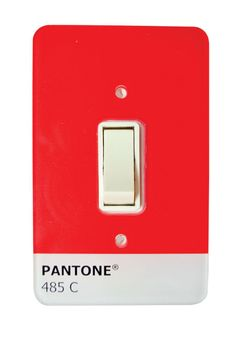 Pantone Light switch cover