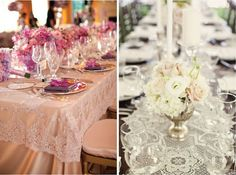 Wishahmon - Wedding Creations: Lace Wedding Decor