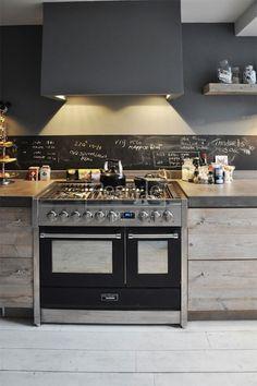 SMEG Cuisinière Gaz Centre De Cuisson Cm SCB Chaleur - Gaziniere gaz four chaleur tournante pour idees de deco de cuisine
