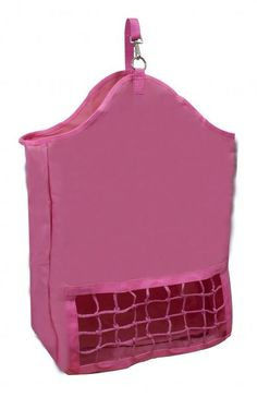 Purple Showman ® Cordura nylon slow feed hay bag