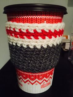 tea or coffie cup cosy by made4you72 on Etsy https://www.etsy.com/listing/207398587/tea-or-coffie-cup-cosy