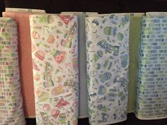 Baby Sprinkles - bottles bibs, toys 100% cotton fabric sold by the yard 1 fabric #QuiltingTreasures
