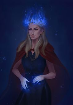 Aelin Galathynius by aleixsart. Queen of Shadows. Empire of Storms. Sarah J Maas