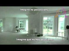 Imagine-John Lennon(subtitulado en ingles y español)[with lyrics] - YouTube