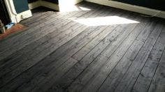 Grey stained victorian pine by Btown Flooring