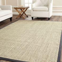 <li>Update your home decor with a new rug</li> <li>Casual rug is hand-woven of natural fibers</li> <li>Floor rug is made from natural sisal with a natural latex backing for added durability </li>