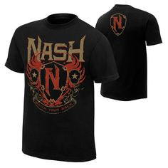Kevin Nash Watch Your Back Authentic T-Shirt - WWE