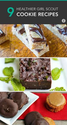 9 Healthier Ways to Enjoy Your Favorite Girl Scout Cookies #recipes #healthy #dessert