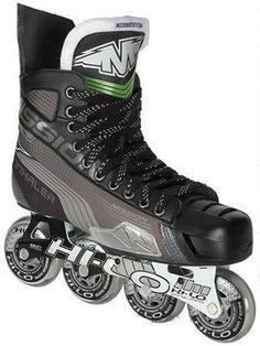 Yep..I think I need a pair of these! Mission Inhaler AC7 Roller Hockey Skates.