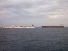 FSO and Tanker @ Al-Shaheen oil field