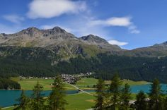 Hike/Bike-In and Hike/Bike-Out at Lake Silvaplana. Free cable car in summer. Sleep & ski pass in winter. Ski Pass, Skiing, Mountains, Nature, Summer, Travel, Switzerland, Viajes, Ski