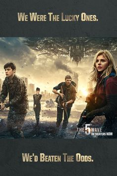 The lucky ones are the ones who beat the odds. Can they beat The 5th Wave? | #5thWaveMovie has hit theaters | Click through to purchase tickets!
