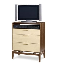 Soho 3 Drawer Chest & TV Stand available in 7 different hardwood combinations