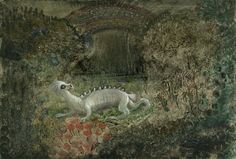 Alfred Kubin - Mythical Animal - Fantasy Oil Painting Reproduction, Vintage Mystical Artwork, Poster Art Print for Wall Hanging and Display Modern Art London, Alfred Kubin, Art Nouveau, Surreal Artwork, Magic Realism, Cryptozoology, Fantastic Art, Amazing, Mythical Creatures