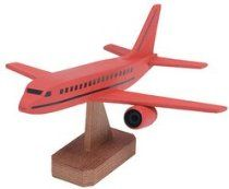 Darice Wood Model Kit: Jumbo Jet