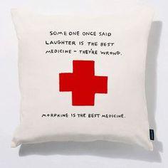 Ha! First aid tip.