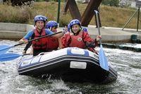 Baptême de Kayak, Canoë, Ski Nautique et Rafting du 1er au 31 juillet 2015 au Lac des Peupleraies, St Avertin, à 2 pas de Tours