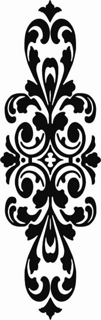 Etched glass: Victorian, Edwardian traditional door panels