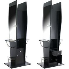 Beauty Salon Spa Equipment Double Sided Hair Styling Station With Mirror Ws 20b