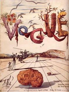 Salvador Dalí para Vogue