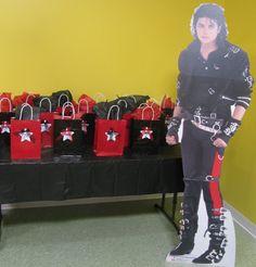 Michael Jackson cardboard stand up