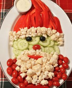 Holiday Vegetable Tr