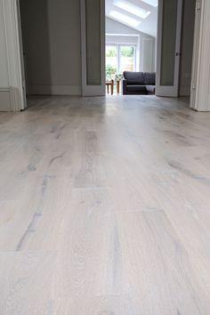 Solid Oak Floor Restoration custom finish modern stair cladding in Battersea Wooden Flooring, Hardwood Floors, Wood Floor Restoration, Stairs Cladding, Modern Stairs, Stair Steps, Wood Stairs, Floor Design, Solid Oak