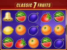 Classic 7 Fruits - http://777-casino-spiele.com/kostenlose-spielautomat-classic-7-fruits-online/