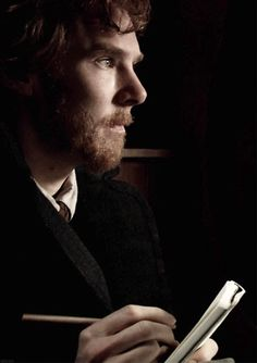 I watched it last night. Van Gogh/ Benedict Cumberbatch. It's so poetical and strange that those two men I love so much had played two of my favourite artists: Ben as Vincent, Martin as Rembrandt.
